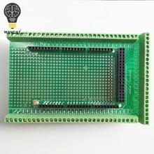 WAVGAT  Double-side PCB Prototype Screw Terminal Block Shield Board Kit For MEGA-2560 Mega 2560 R3 Mega2560 R3