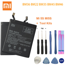 BM36 BM22 BM35 BM45 BM46 Battery For Xiaomi Mi4C Mi5S Mi 5 4C 5S Mi5 Redmi Note 2 3 Pro Replacement Batterie Free Tools