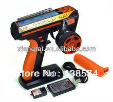 Flysky FS-GT3C FS GT3C 2.4G 3CH RC CAR System /w battery GR3C Receiver Radio Controller