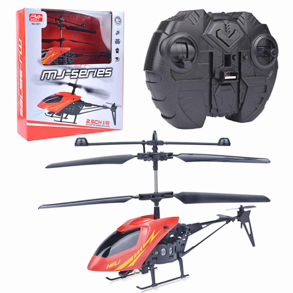 1 Set New RC 901 2CH Mini helicopter Radio Remote Control Aircraft Micro 2 Channel