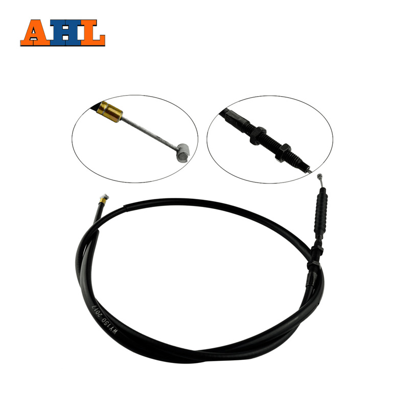 AHL Motorcycle Clutch Cable Wire For Yamaha XVS650 Drag Star 1997-2002 V-Star Custom 1998-2014 XVS400 Drag Star 1996-2012 ahl motorcycle front brake pads disks for yamaha xvs 650 950 1300 drag star 1997 2007 vstar custom 1997 2015 classic