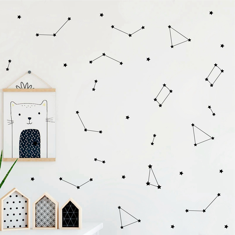 Constellation Wall Decal Kids Bedroom