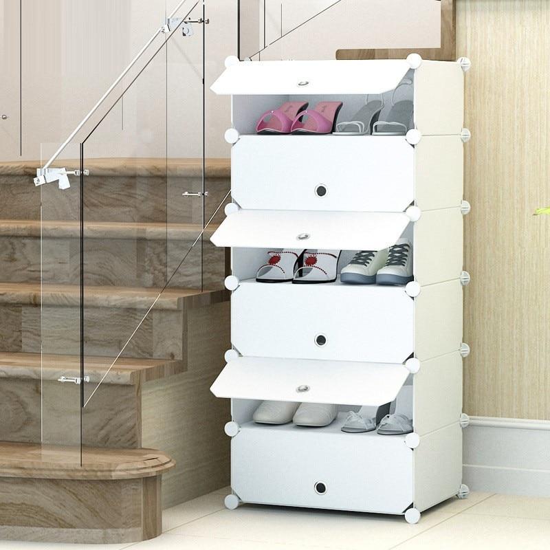 excellent wholesale shoe racks high capacity living room furniture   High quality shoe organizer Steel skeleton removable door ...
