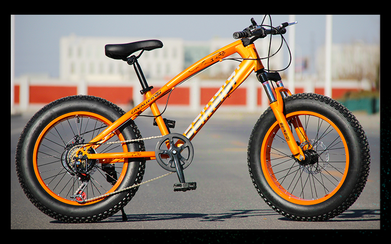 HTB1lh4 ShnaK1RjSZFBq6AW7VXa6 KUBEEN mountain bike 21 speed 2.0 inch bicycle Road bike Fat Bike Mechanical Disc Brake Women and children bicycles