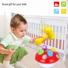 Simbable Kidz Sports Toys Light-Up and Vocal Baby Learning Education Noise Maker Knock On Music Hammer Game