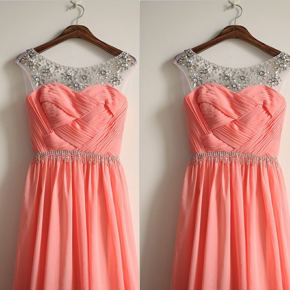 Online Get Cheap Coral Color Bridesmaid Dresses -Aliexpress.com ...