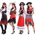Костюм для Хэллоуина для взрослых мужчин и женщин  костюм пирата  капитана пирата  театральный костюм  костюм пирата для ролевых игр