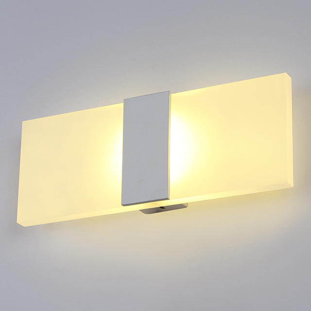 Nordic Designer Wall Lamp Contemporary Design Bathroom Led Mirror