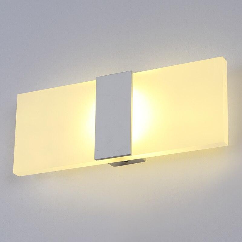 nordic designer wall lamp contemporary design bathroom led mirror wall light fixtures modern home lighting decoration cheap wall lighting