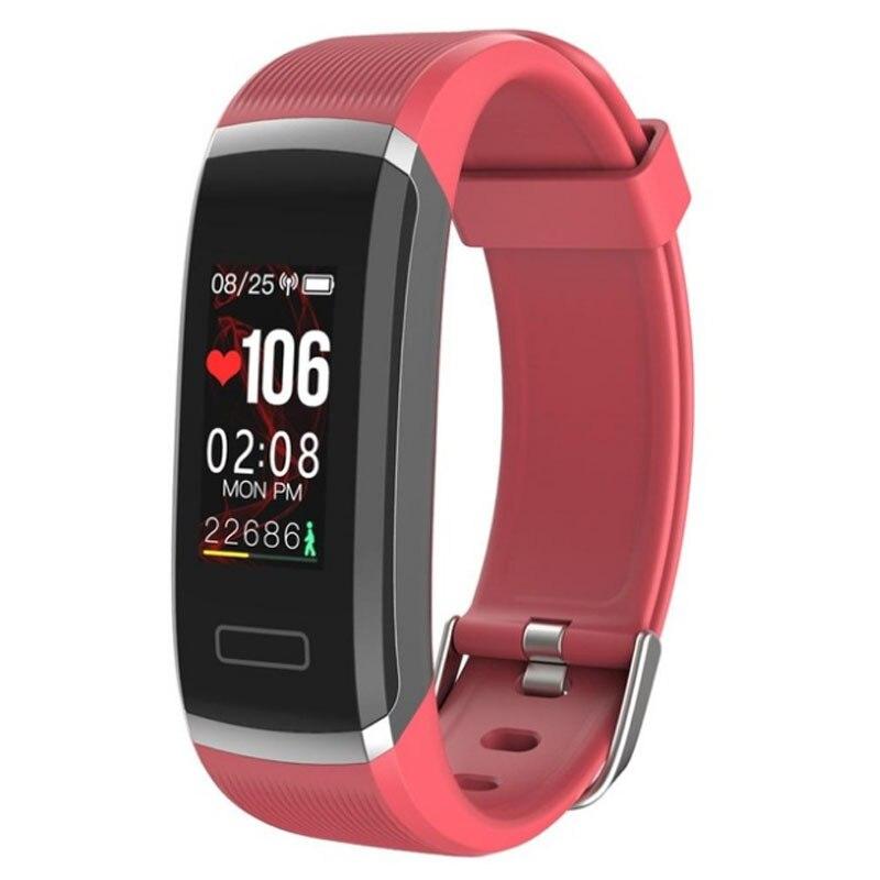 Wearpai Color Screen Smart Bracelet GT101 Waterproof 24hours Heart Rate  Monitor Fitness Tracker Bluetooth Smart Watch for Sport