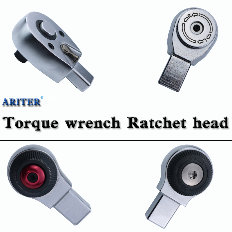 Open Ratchet Torque Wrench Insert Ratchet Head Tools Head 9*12 14*18  Apply To Quick Release Grip Wrench