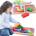 Bloques de juego Tetris para niños/juguete de madera Katamino, juego de mesa para niños Katamino pensando en el juego cubo blocsood montaje de juguete