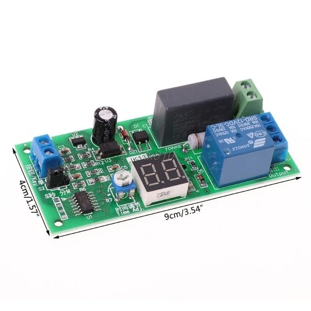AC220V ~ 240 V 230 V переключатель задержки выключения доска реле времени модуль W/светодиодный июля Прямая поставка