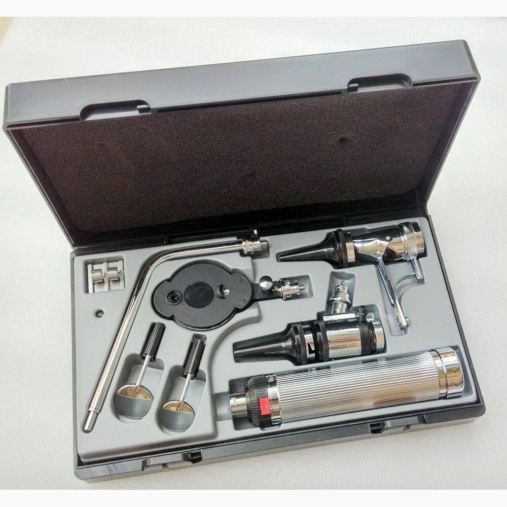 Профессиональный медицинский диагностический многофункциональный набор для ухода за ушами, отоскоп, офтальмоскоп, диагностика орального ...