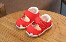 wholesale 2017 summer new baby shoes boys and girls shoes breathable soft bottom baby  sandals free shipping ey shoes