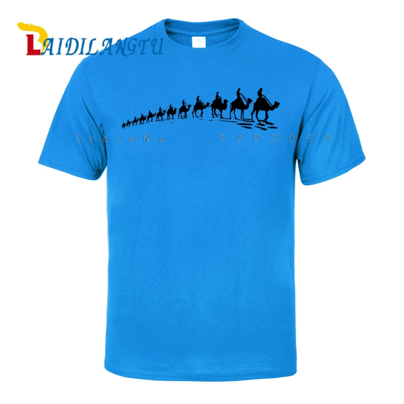 Hot SELL 2018 New Fashion Camel team Print T shirt Men Cotton O neck T Shirt Summer Clothing Casual T shirt in T Shirts from Men 39 s Clothing