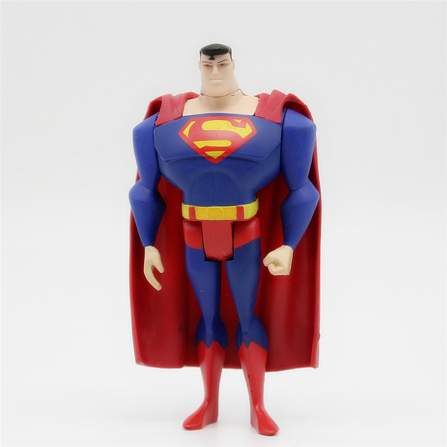 JUSTICE LEAGUE UNLIMITED DC Universe Superman JLU SuperHero Action Figures Toys 3.75inch