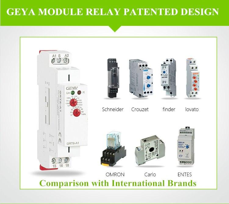 Frete grátis geya GRV8-03 relé de monitoramento