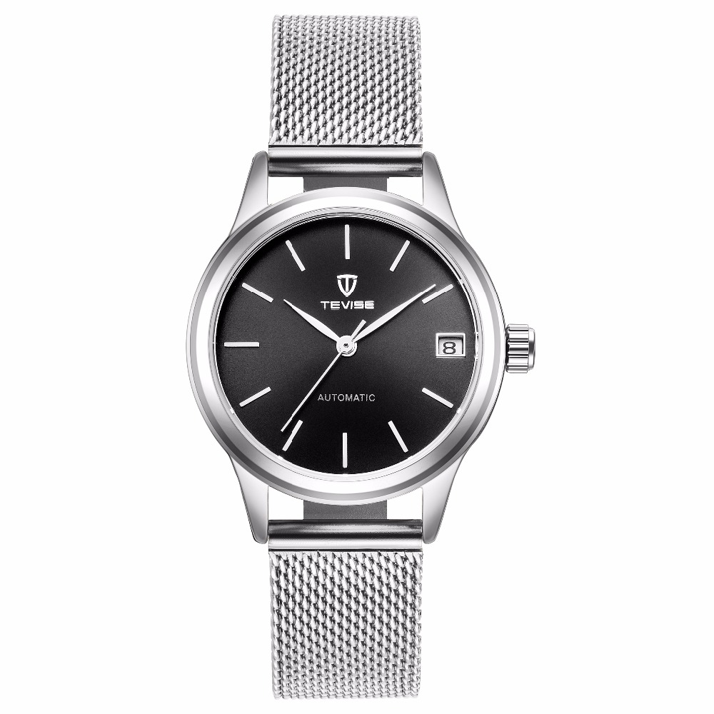 TEVISE Women Automatic Mechanical Watch Sapphire Watch Ladies Fashion Business Female Waterproof Watch цена и фото