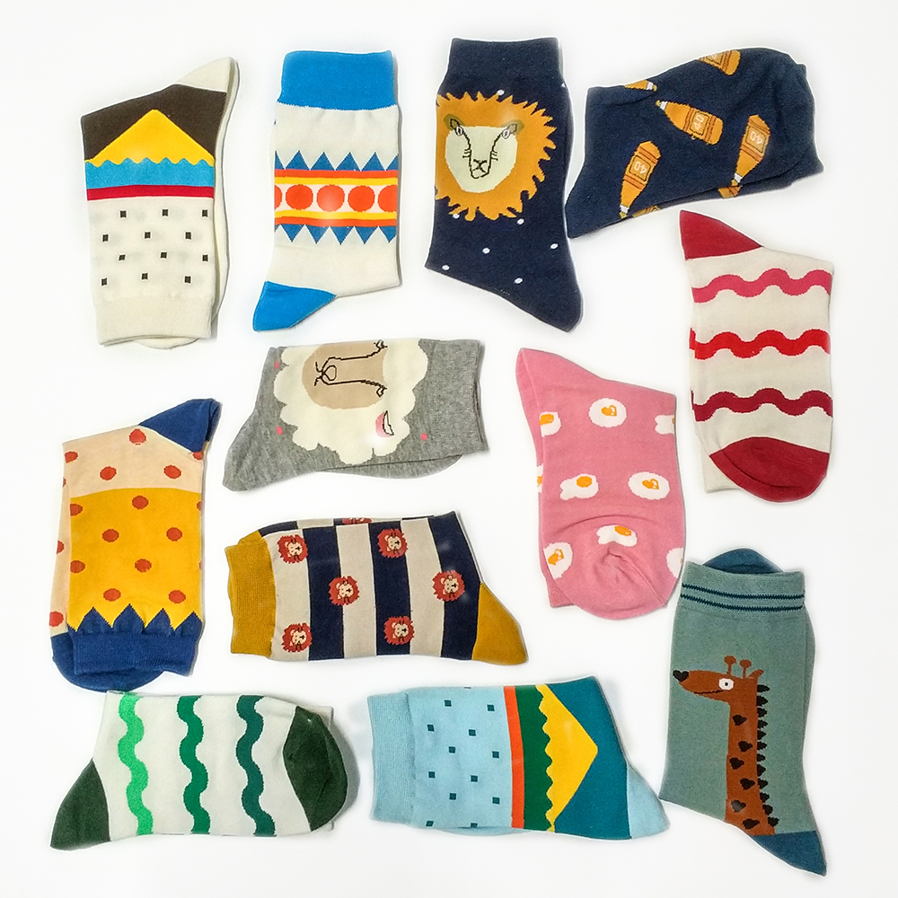 2018 New Cotton Socks Women