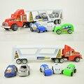 Набор Из Шести Дешевые Пластиковые Toys Hot Wheels Toy Cars Инерции Truck Tractor Toys Kids Для Детей Два Вида Цвета Модель Подарок