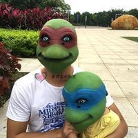 Teenage Mutant Ninja Turtles maschera per gli occhi tartaruga animale testa di cavallo cos Halloween party bar parodia genitore-bambino attività