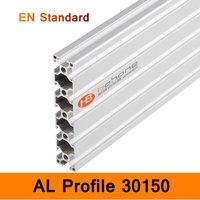 30150 алюминиевый длинный Профиль EN Стандартные скобы DIY кронштейн строительство AL алюминиевый Экструзионная форма CNC 3D DIY принтер части