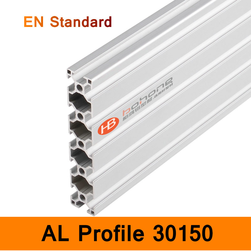 30150 Aluminium Long Profile EN Standard Brackets DIY Bracket Construction AL Aluminum Extrusion Shape CNC 3D DIY Printer Parts