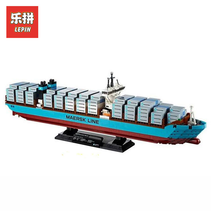 Здесь продается  Lepin 22002 New 1518Pcs Genuine Technic Series Maersk Line Triple-E Toys for boys model Building Blocks Bricks LegoINGlys 10241  Игрушки и Хобби