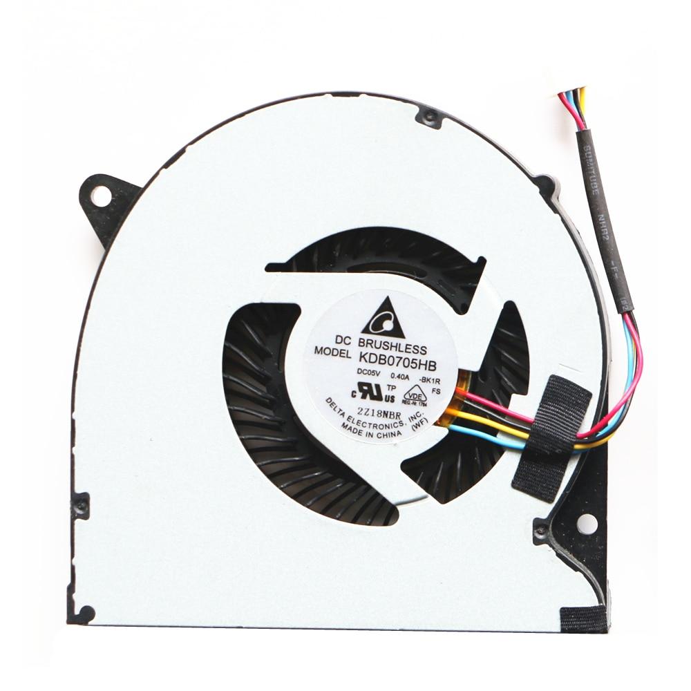 New Original Cpu Fan For Asus Q400 Q400A U47 U47A U47VC Cpu Cooling Fan KDB0705HB-BK1R DC05V 0.40A