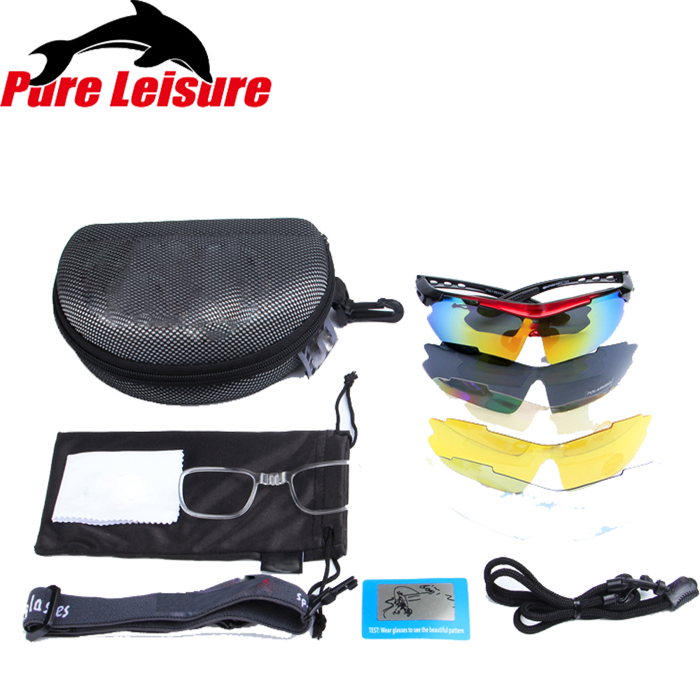 134ebe0ae68e PureLeisure 1 Set 5 Lens Fly Fishing Polar Glasses Clip On Sunglasses  Polaryte HD Polarisantes Peche Sun Covers Sunglass Clip-in Fishing Eyewear  from Sports ...