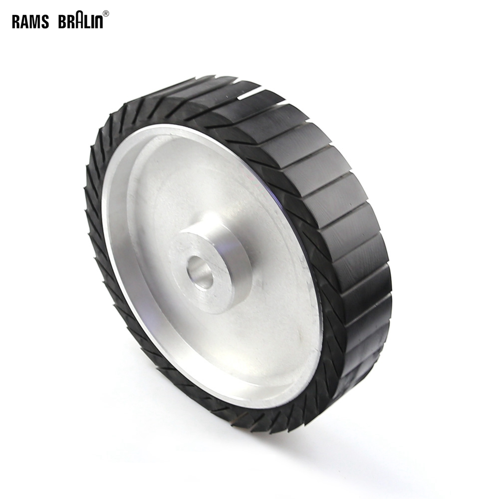 250*50*25mm Centrifugal Rubber Contact Wheel 10