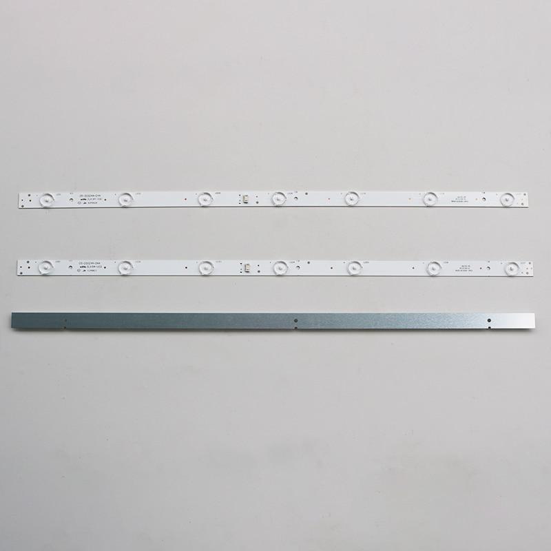 3 шт./компл. оригинальная новая светодиодная лента для подсветки skyworth 5800-W32001-3P00 05-20024A-04A для детской лампы 32HX4003 7 светодиодный 605 мм