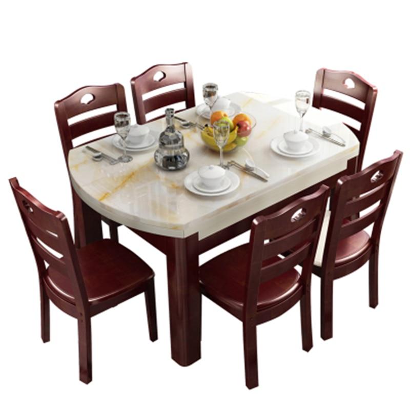 Eet Marmol Dinning Tavolo Comedores Mueble Eettafel Set ...