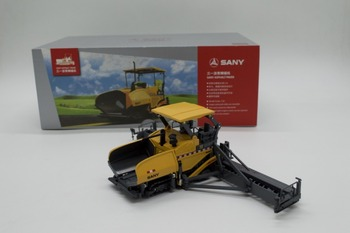 Alloy Model Gift 1:50 Scale SANY Asphalt Paver Engineering Machinery Vehicles DieCast Toy Model for Collection Decoration