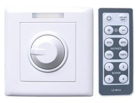 LED Intelligent Dimmer;DC12-48V input;Constant voltage PWM dimmering;Max 6A output;P/N:LT-3200