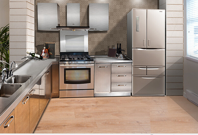 2017 Direct Factory Made Mini Kitchenette Used Stainless Steel Kitchen Cabinet