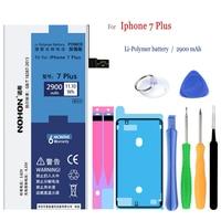 NOHON 2900mAh Battery For Apple IPhone 7 Plus 7plus Iphone7 Plus Replacement Mobile Phone Battery Give