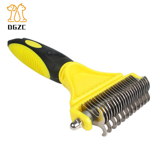 Dog Grooming Comb Dematting Tool for Dogs Undercoat Removal - Professional  Pet Rake Brush for Medium and Large Dog Dropship 1e9fa6ad0