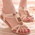 Boêmio mulheres sandálias de verão 2017 novas sandálias femininas sandálias de praia sapatos Plataforma recortes mulheres sandálias 1158 35