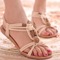 Bohemian women sandals 2017 summer new female flat sandals Platform beach shoes cutouts women sandals 1158 35