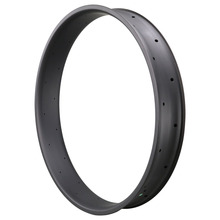ICANbikes high quality 26er 90mm carbon fat bike clincher tubuless ready wide rim biggest and strongest carbon ruedas mtb 26er fat bike clincher rim 100mm width 25mm depth wide bicycle wheel tubeless compatible
