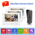 English/Russian/French/Spanish/Japanese/Czech/Polish/Arabic Wired Doorphone Intercom System Home Access Control System,1 to 3