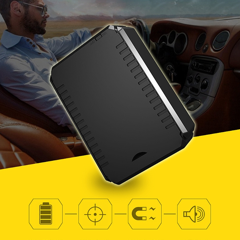 Waterproof GPS Tracker K6 Vehicle Locator Magnet Long Standby 150 Days 10000mAh Battery Real Time Position Tracking