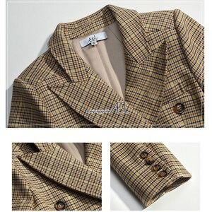 Image 4 - AEL Women Winter Autumn Suit Jacket high quality 2017 Grace Female Coat Fashion Clothing