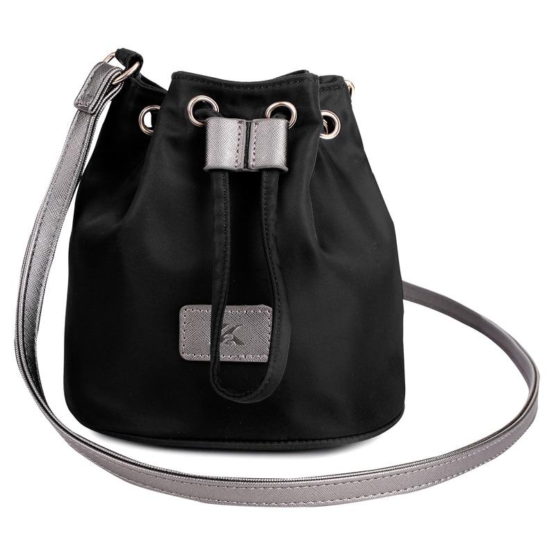 0a56ed6859 2016 New Small Women Messenger Bags Fashion Waterproof Nylon Bucket ...