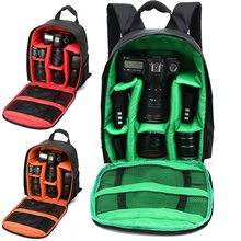 Hot-sale 3 Colors Camera Backpacks Gifts High Quality Nylon Camera Bag Gift Camera Backpack Bag Waterproof DSLR Case for Canon