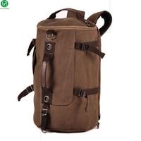 Vintage Classic Canvas Bagpack Backpacks Women Men Travel Bags Big Capacity Shoulder Bag Pack Korean Designer