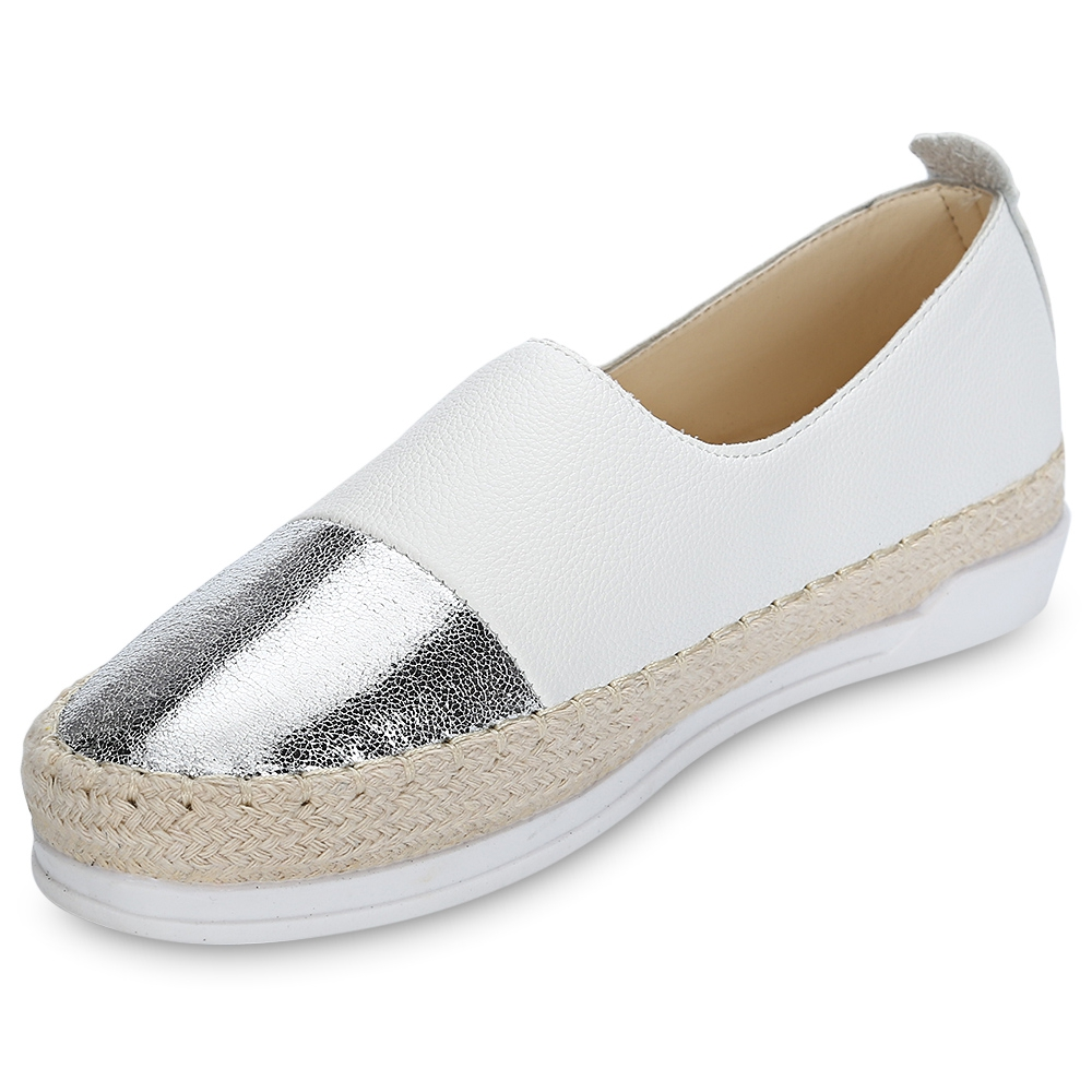 Flats Women Shoes 2017 New Spring Summer Women Patchwork Slip-on Platform Casual Shoes Breathable Slip-On Loafers 2016 new spring thick bottom mesh glitter design fashion casual shoes platform high quality loafers slip on women flats