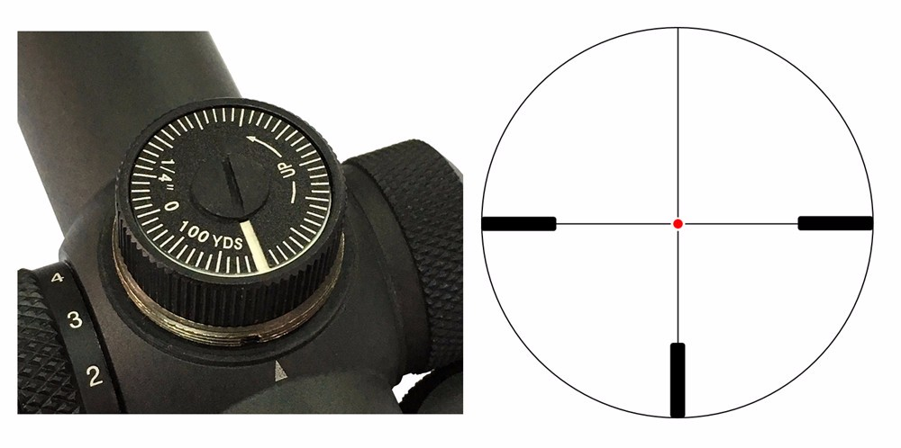 VO Forester Adjust & Reticle Acom 1